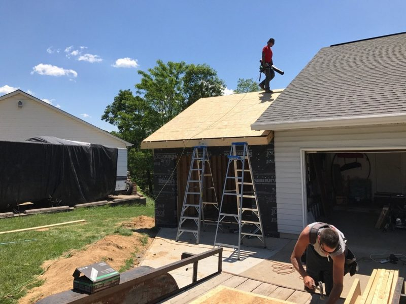 New roof installed by Jent Construction