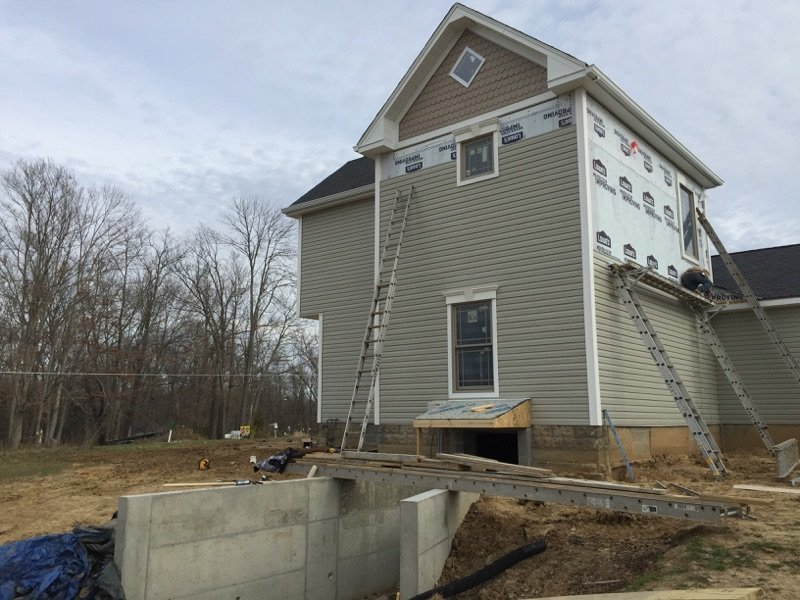 Siding Installed by Jent Construction